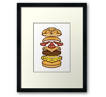 Bacon and Cheese Framed Print