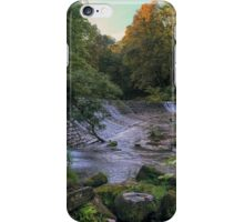 Panoramic Sunrise from Colinton Dell, Edinburgh iPhone Case/Skin