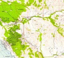 USGS TOPO Map California CA Cambria 288833 1959 24000 geo Sticker