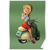 Scooter Girl Poster