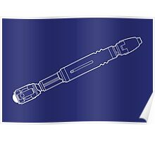 Sonic screwdriver 10 Poster