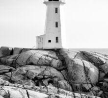 Peggy's Cove Lighthouse, Nova Scotia Sticker
