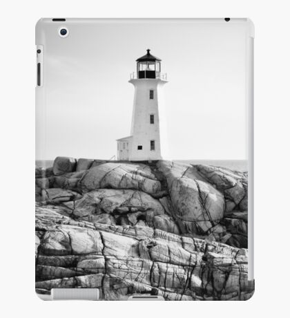 Peggy's Cove Lighthouse, Nova Scotia iPad Case/Skin