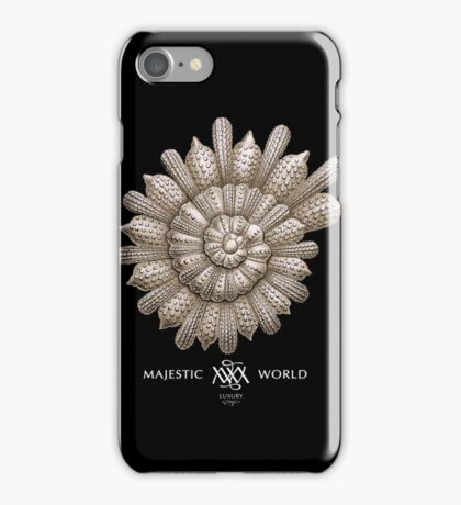 MUSCHELauf schwarz, Naturwunder, Majestic-World, M.A.MARTIN iPhone Case/Skin
