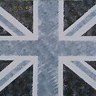Union Jack - Grey by Gary Hogben