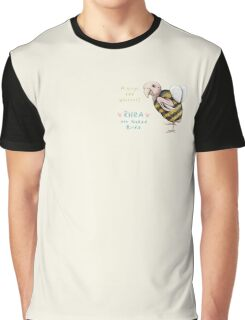Rhea - Always Bee Yourself Graphic T-Shirt