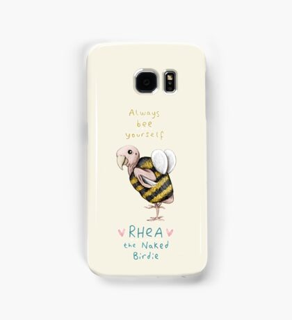 Rhea - Always Bee Yourself Samsung Galaxy Case/Skin