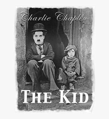 Charlie Chaplin - The Kid Poster