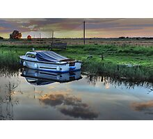 Boat at West Somerton  Photographic Print