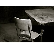 have a seat. Photographic Print