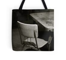 have a seat. Tote Bag