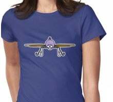 Purple Dragonfly Womens Fitted T-Shirt