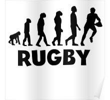 Rugby Evolution Poster