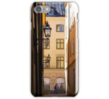 Backstreets Gamlastan, Stockholm iPhone Case/Skin