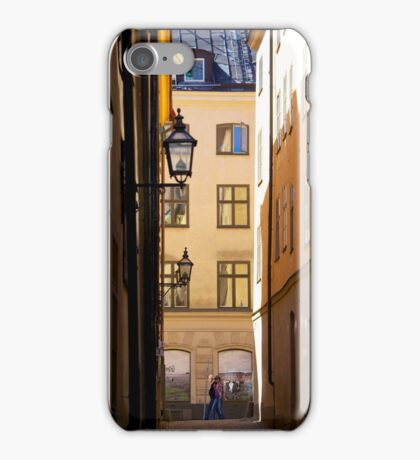Backstreets Gamlastan, Stockholm iPhone Case/Skin