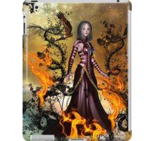 Awesome dark fairy iPad Case/Skin