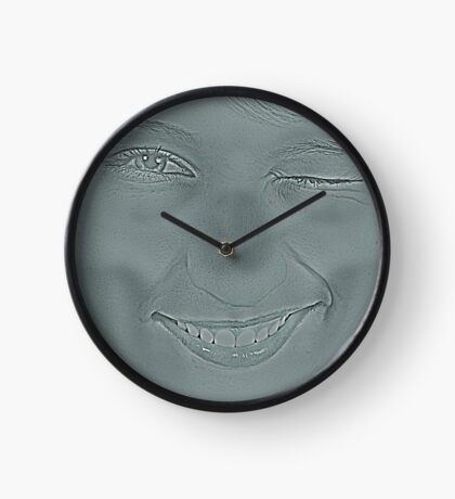 Deadly Girl Clock