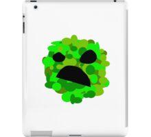 Artistic Creeper iPad Case/Skin
