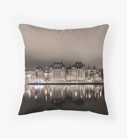 Stockholm Reflection Throw Pillow