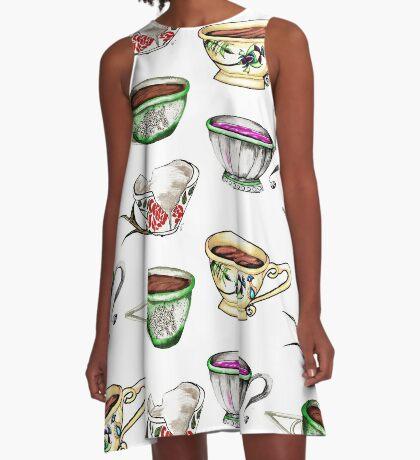 Tea cups! A-Line Dress