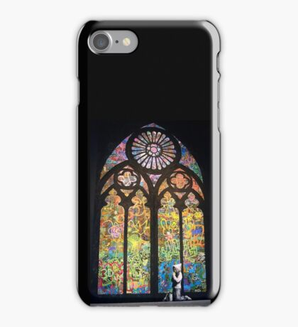 Church Cathedral Banksy iPhone Case/Skin