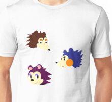 Hedgehog Siblings Unisex T-Shirt