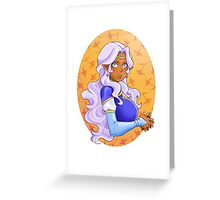 Space mom Greeting Card