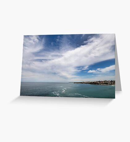 Above us only sky Greeting Card