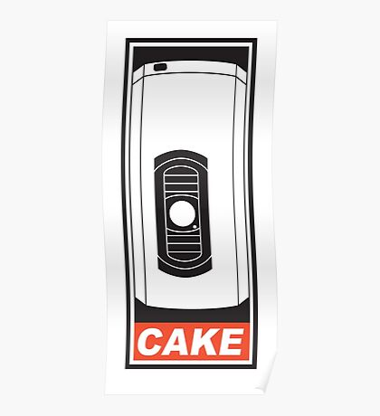 Cake is a Lie Poster