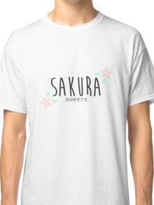 Sakura. Classic T-Shirt