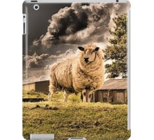 storms coming iPad Case/Skin