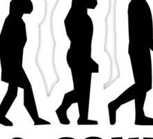 Cross Country Evolution Sticker
