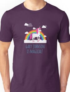 Gary Johnson is Magical - Funny Election President  Unisex T-Shirt