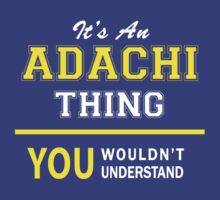 It's An ADACHI thing, you wouldn't understand !! by satro
