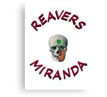 Reavers Miranda Canvas Print