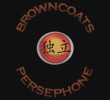 Browncoats Persephone on Black Baby Tee