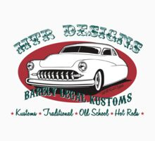 HTR Designs Barely Legal Kustoms garage One Piece - Short Sleeve