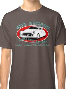HTR Designs Barely Legal Kustoms garage Classic T-Shirt