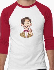 Bow Ties <3 Men's Baseball ¾ T-Shirt