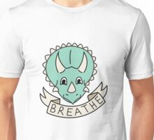 breathe (custom colours available) Unisex T-Shirt