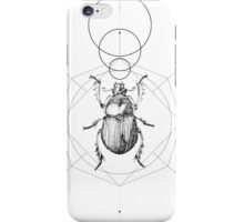 Dots, Lines & Beetle iPhone Case/Skin