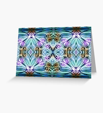 Crystal Dimension Greeting Card
