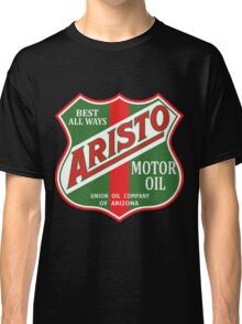 Aristo Motor Oil vintage sign reproduction Classic T-Shirt