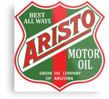 Aristo Motor Oil vintage sign reproduction Metal Print