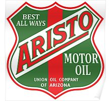 Aristo Motor Oil vintage sign reproduction Poster
