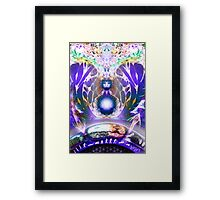A return to the source Framed Print