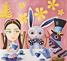The Tea Party by Margaret Krajnc
