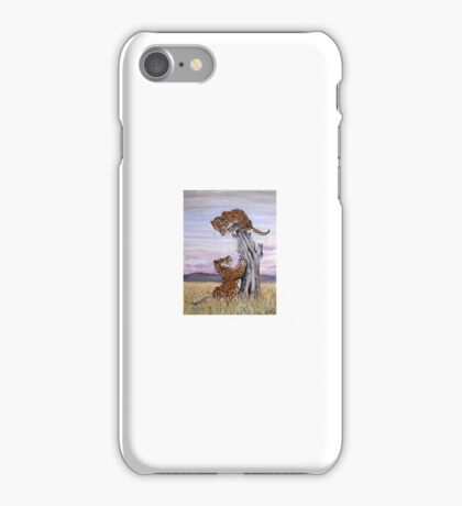 PLAYFUL LEOPARDS  iPhone Case/Skin