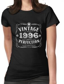 Made In 1996 Birthday Gift Idea Womens Fitted T-Shirt