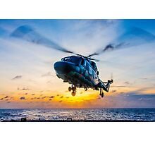 Landing Lynx Photographic Print